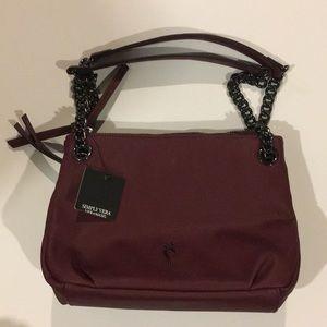 Simply Vera Vera Wang Maroon Large Pocketbook NWT